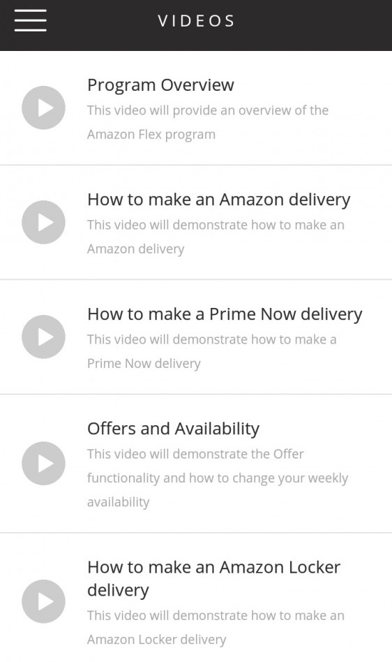 Amazon Flexx Training Videos