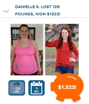 Weight loss motivation with HealthyWage