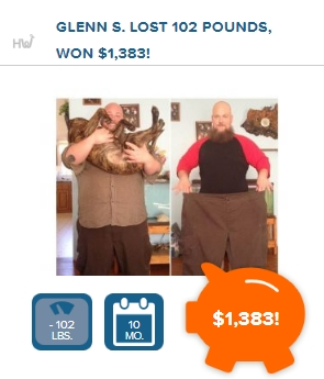 Lose weight with the Healthywage Challenge